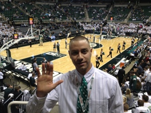 Dan Krier - Michigan State Universisty - December 2012 - NCAA Men's Basketball - MSU - Sports
